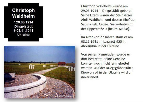 Waldhelm, Christoph