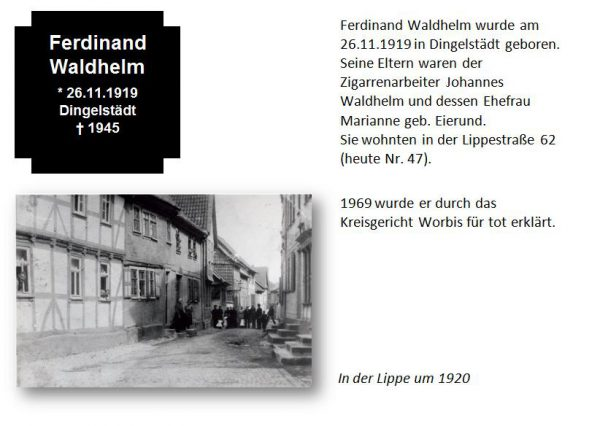 Waldhelm, Ferdinand