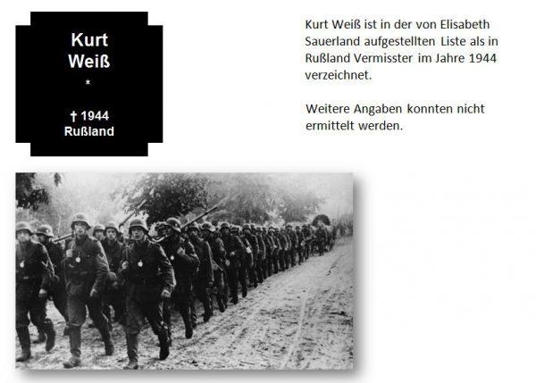 Weiß, Kurt