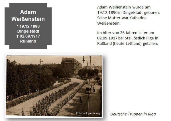 Weißenstein, Adam
