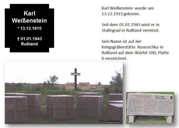 Weißenstein, Karl