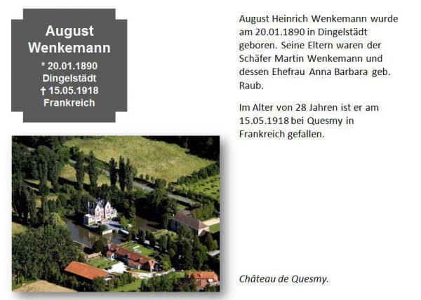 Wenkemann, August