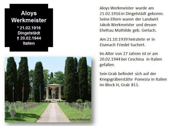 Werkmeister, Aloys