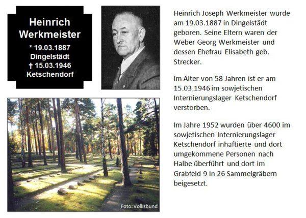 Werkmeister, Heinrich