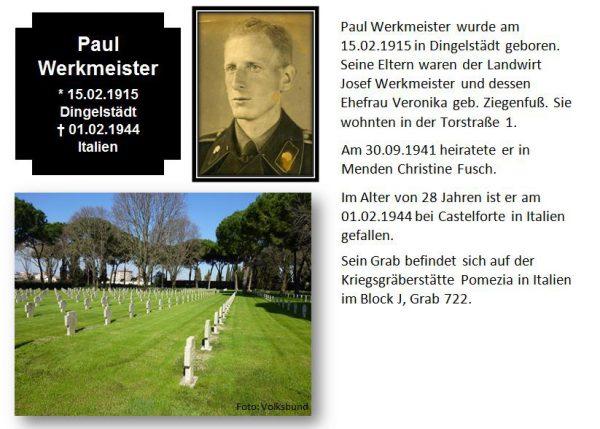 Werkmeister, Paul