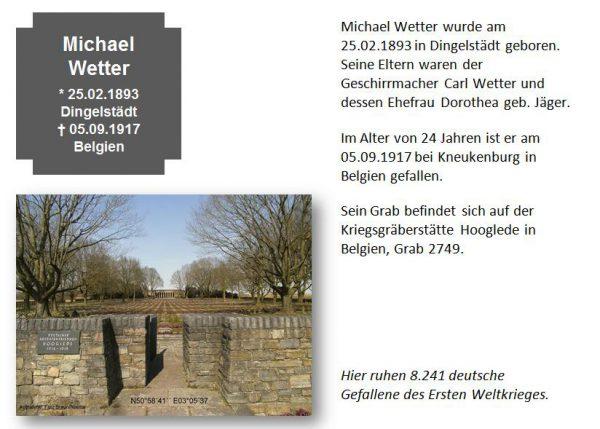 Wetter, Michael