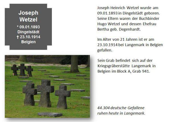 Wetzel, Joseph