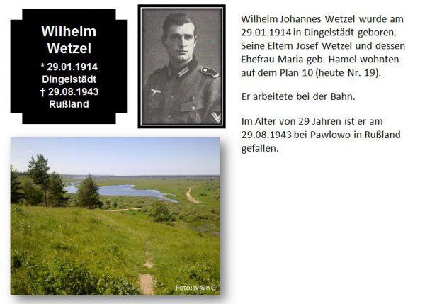 Wetzel, Wilhelm