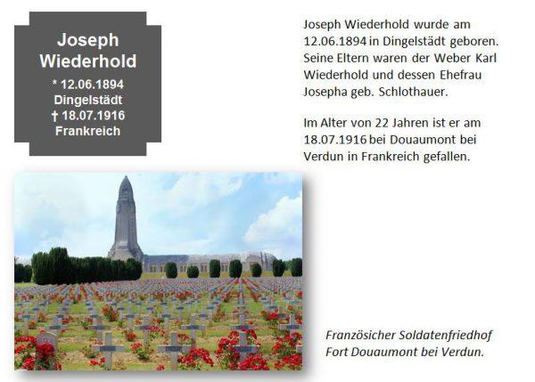 Wiederhold, Joseph