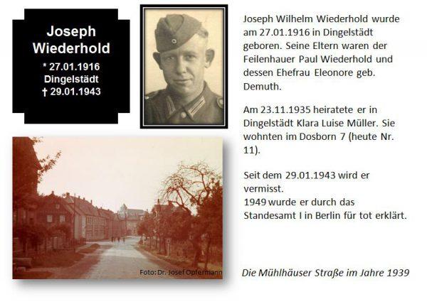 Wiederhold, Josef