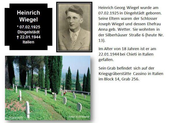 Wiegel, Heinrich