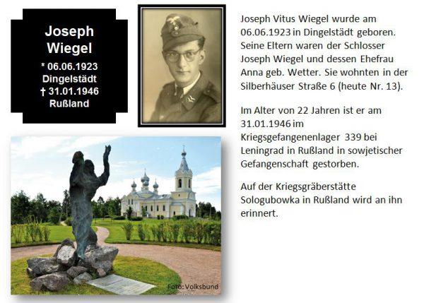 Wiegel, Joseph