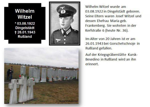 Witzel, Wilhelm