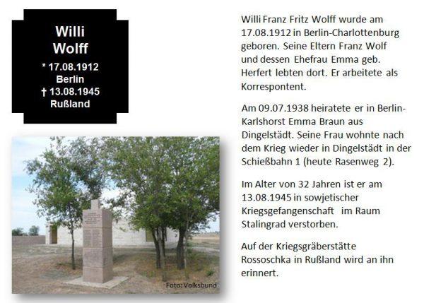 Wolff, Willi