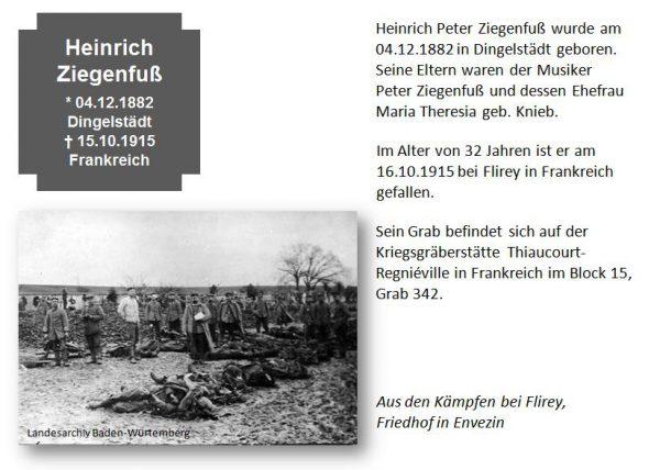 Ziegenfuß, Heinrich